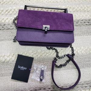 BOTKIER Small Lennox Winter Purple Crossbody Bag